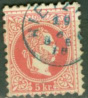 Autriche   Yvert 34  Ou Michel  37 I  Ob  TB    Ob    Stpl  Hietzing En Bleu - Used Stamps