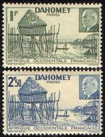 DAHOMEY  ( POSTE ) : Y&T N°  149/150  TIMBRES  NEUFS  SANS  TRACE  DE  CHARNIERE . A  SAISIR . - Unused Stamps