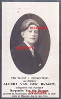 Oorlog GUERRE Albert Vander Bracht Zandbergen Gesneuveld Bombardement Te Menen 24 Mei 1940 Wevelgem GULLEGEM - Devotion Images