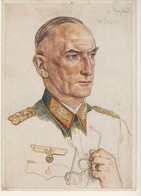 Generaloberft Bibleben - Rare Picture Postcard (2 Images) - Guerre 1939-45