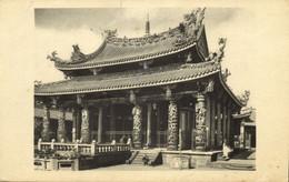 Formosa Taiwan, TAIPEI, Lung Shan Temple (1920s) Postcard - Formosa