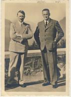 HITLER E Konrad Henlein A Obersalzberg - 2* World War - Da Johannesberg Il 21 Ottobre 1939 (2 Images) - Guerre 1939-45