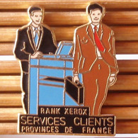Joli Pin's Informatique, Rank Xerox, AB, émail Grand Feu, TBQ, Pins Pin. - Informatique