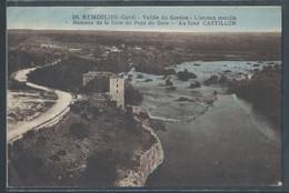 CPA 30 - Remoulins, Vallée Du Gardon - L'ancien Moulin - Hameau De La Gare Du Pont Du Gard - Remoulins