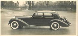 RARE PHOTO - ANNEES 30 - TRES BEAU PLAN PRESENTATION AUTOMOBILE  - (11 X 23) - PHOTO; R. MIZEN - TRES BON ETAT - Cars
