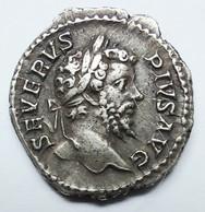 TRÈS BEAU DENIER En Argent DE SEPTIME  SEVERE - 4. The Severans (193 AD To 235 AD)