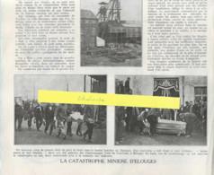 Régionalisme-Catastrophe Minière D'Elouges (Dour)-Charbonnage-Charbonnages Unis Du Couchant-Patriote Illustré Avril 1930 - Belgique