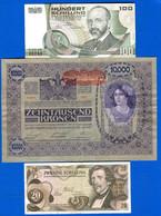 Autriche  3  Billets - Austria