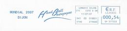 2007 Championnat Du Monde Féminin De Hand Ball En France: Dijon (n° SP 577553) - Pallamano