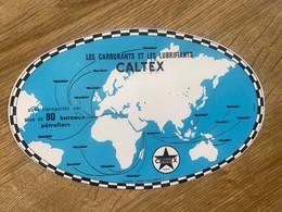 BUVARD CALTEX - Automobile
