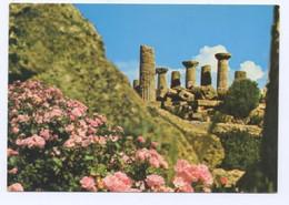 Ma48 - AGRIGENTO - Tempio Di Ercole - Nuova - Orizzontale - A Colori Lucida - Periodo Anni '70 - Ediz. Cacciatore Agrige - Agrigento