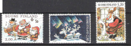 Finland 1996  Christmas. Mi 1365-1367 MNH(**) - Unused Stamps