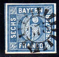 Bayern, MR 375 ORTENBURG  Zentrisch Auf Breitrandiger 6 Kr. - Bavaria