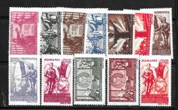 Roumanie YT N° 854/865 Neufs ** MNH. TB. A Saisir! - Unused Stamps
