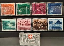 SUISSE - 1952 - N° 517/525 ** / * / O (voir Détail Et Scan) - Unclassified