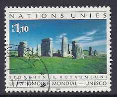 ONU / United Nations / UN / UNO 1992 - Landscapes, Scenery, Unesco, Stonehenge, World Heritage Site - Used - Usados