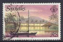 Seychelles 1988 - Beach Scenes, Sailing Boat, Landscapes, Paysages - Used - Seychelles (1976-...)