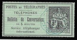 France Téléphone N°11 - Oblitéré - TB - Telegrafi E Telefoni