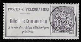 France Téléphone N°22 - Oblitéré - TB - Telegraph And Telephone