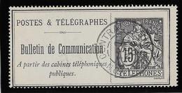 France Téléphone N°23 - Oblitéré - TB - Telegraph And Telephone