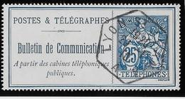 France Téléphone N°24 - Oblitéré - TB - Telegraph And Telephone