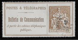 France Téléphone N°25 - Oblitéré - TB - Telegraph And Telephone