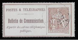 France Téléphone N°26 - Oblitéré - TB - Telegraph And Telephone