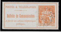 France Téléphone N°27 - Oblitéré - TB - Telegraph And Telephone