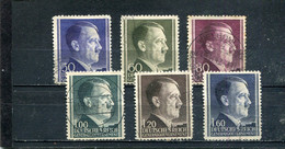 Pologne 1941-42 Yt 94-99 Gouvernement Général - Governo Generale