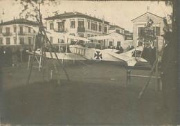AVION DESCENDU A SALONIQUE LE 10/02/1916 FORMAT 9 X 6.50 CM - Luchtvaart