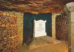 PARIS        H961      Les Catacombes De Paris.Ossement Provenant Des Combats De La Révolution - Otros