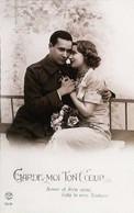 """► Cpsm PATRIOTE Militaria France Fox Paris 7031 - Couple Année 1939/1940 """"Garde Moi Et Ton Coeur """" - Guerre 1939-45"""