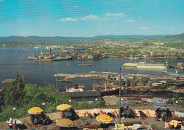 Norway - Oslo - View From Ekeberg - Harbour - Hafen Um 1965 - Railway - Docks - Norvegia