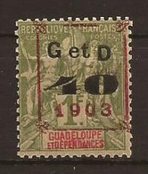 GUADELOUPE - N° 52 NEUF XX MNH - Valeur 112€50 - Unused Stamps