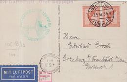 ALLEMAGNE : PA . ZEPPELIN LZ 127 . DE STETTIN . 1931 . - Storia Postale