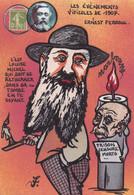 CPM Narbonne Tirage Signé 30 Ex. Numérotés Signés Par JIHEL Clemenceau Fallières Viticole 1907 Ferroul - Narbonne