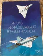 Rare Manuel Complet Des Avions Marcel Dassault :Mystere-Falcon 10 - Manuali