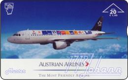"AUSTRIA Private: ""Austrian Airlines - Star Alliance"" - MINT [ANK F508] - Austria"