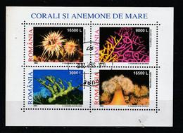 2002 - Coraux Et Anémones II Mi No Block 319 - Gebraucht