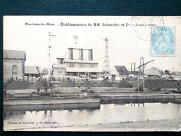 71, Montceau Les Mines , établissements Schneider ,les Fours à Chaux En 1905 - Montceau Les Mines