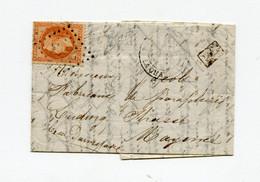 !!! BALLON MONTE AVEC TEXTE DATE DU 6 JANVIER 1871 POUR MAYENNE - War 1870