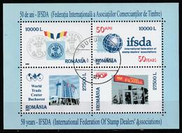 2002 -  I.F.S.D.A  Mi No Block 321 - Gebraucht
