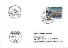 PORTUGAL - The Discover Of Antarctica - Zarco (Funchal) Madeira Postmark - 2021-06-16 (real Circulated) - Unclassified