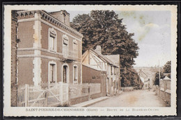CPA 27 - Saint-Pierre-de-Cernières, Route De La Barre-en-Ouche - Autres Communes