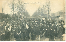 (93) Bagnolet : Le Marché Aux Puces (animée) - Bagnolet
