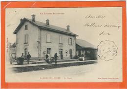 LOZERE : St Chély D'Apcher : La Gare, TOP CARTE, Précurseur, RARE... - Saint Chely D'Apcher