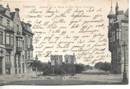 Ostende - Avenue De La Reine Et Parc Marie-Henriette / 1905 - Oostende
