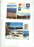 Carte Maximum 1967/68 Grenoble Jeu Olympique - 1960-69