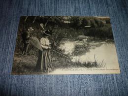 Carte Postale Hauts De Seine Chaville Velizy L'etang De Brise Miche Couple Anmée - Chaville