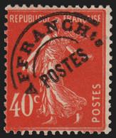 Préoblitérés N°64, Semeuse 40c Vermillon, Neuf ** Sans Charnière COTE 45€ - TB - 1893-1947